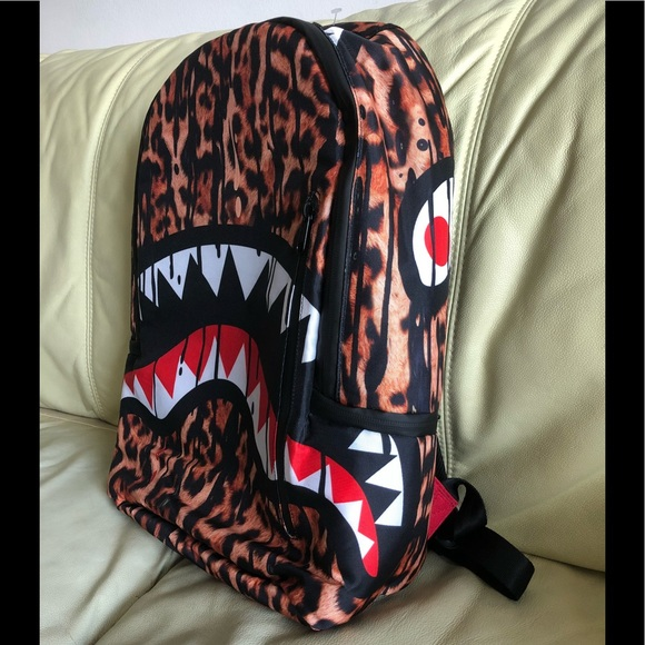 Accessories | Leopard Shark Backpack | Poshmark